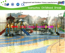Outdoor Hotel Swimming Pool Water Play Set For Family