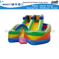 Outdoor Small Children Inflatable Slide For Kindergarten (HD-9501)