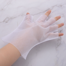 UV protection nail gloves open-toed gloves