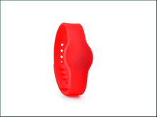 Passive HF UHF Adjustable Silicone Rfid Wristband for Ticket