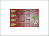 Plastic Scratch Off Prepaid Phone Card for Recharging
