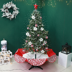 1.9m New Big Christmas Tree with Snow for Christmas Indoor Decoration Customized
