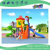2018 New Outdoor Small Colorful Mushroom House Children Playground Equipment (H17-A13)