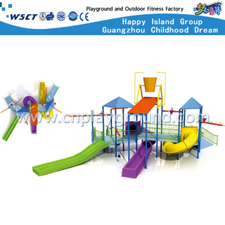 Water Slide Equipment Kids Play Structures(HD-6703)