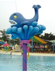 Aqua Game Children Water Whale for Water Park Playground (HD-7101)