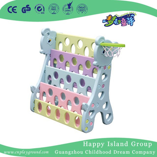 School Colorful Plastic Children Books Shelf (HG-7113)