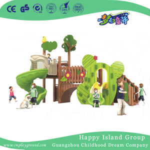 Outdoor Frog Shape Wooden Animal Playground Equipment (1907901)