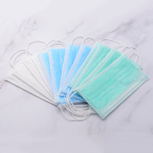 Disposable Non Woven 1ply/2ply/3 ply Ear-loop Face Mask