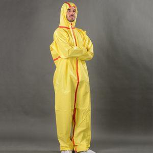 Disposable microporous coverall colorful