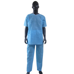 SBPP Disposable medical shirt with short sleeve