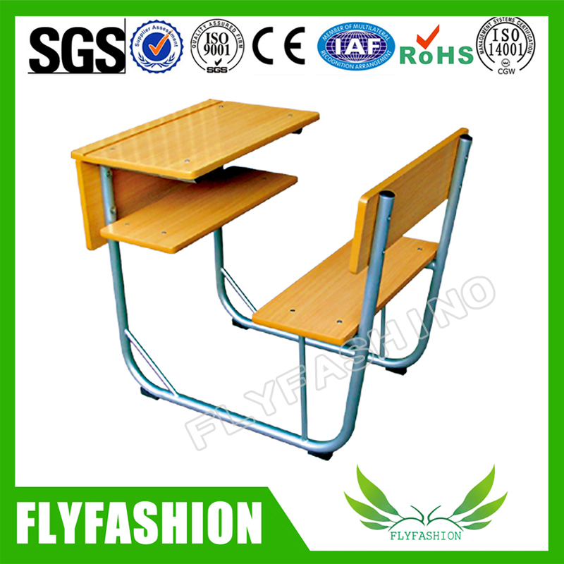 High Quality Combo Wooden School Desk And Chair(SF-89S)