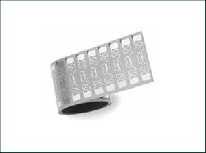 Passive RFID Adhesive UHF Roll Sticker 9610 Wet Inlay for