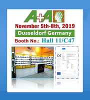 2019 A+A Exhibition in Dusseldorf Germany-- Hall 11C/47