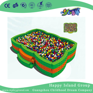 Amusement Park Cheap Square Ball Pool With Step On Stock(HF-19905)