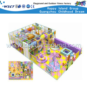 Popular Children Small Indoor Playground For Sale (M11-C0022)