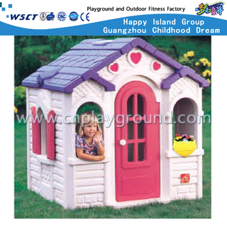Kids Small Lovely Plastic House Play Equipment (M11-09506)