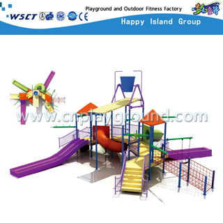 Outdoor Hotel Water Parks Slide Equipment For Kids Play (HD-6402)