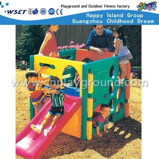 Outdoor Small Plastic Slide Toys Playground for Toddler (M11-09304)