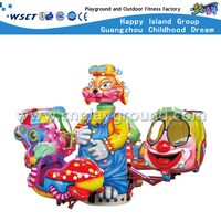 Amusement Park Cartoon Cat Chair Swing Ride Playgrounds (HD-10803)