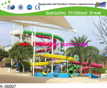 Outdoor Family Large Water Slide For Water Park Playground