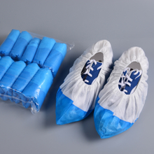 PP+CPE waterproof shoe cover machine made