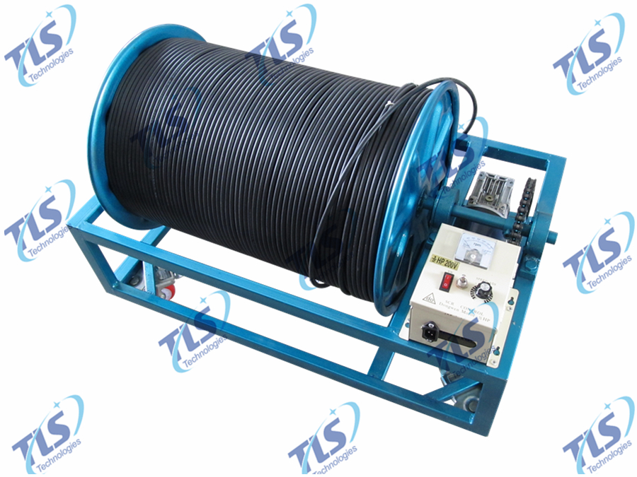 Electric Winch of TLSY-NW Borehole Inspection Camera System-3