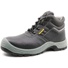 Tiger master brand leather steel toe cap protective safety shoes men