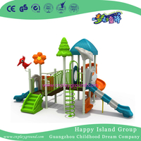 2017 New Design Small Outdoor Combination Slide Playground with Swing(FY-L11107-1)