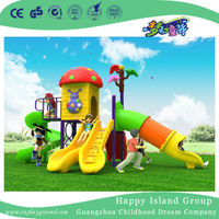 2018 New Outdoor Red Cartoon Mushroom House Children Playground Equipment (H17-A17)