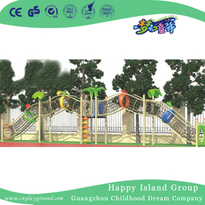 Outdoor Large Parallel Rope Network Series Climbing Frame (1919501)