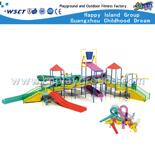 Kids Outdoor Hotel Water Parks Slide Play Equipment (HD-6401)