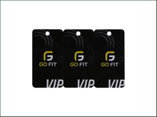 High Quality Printing Plastic Luggage Card with White Signature And Metal Eyes