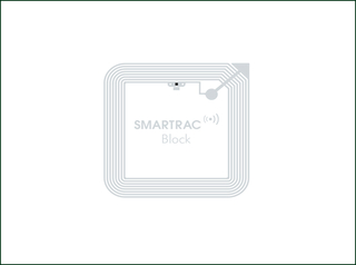 Adhesive UHF HF Smart RFID Label for Library Management