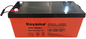12V 200Ah Solar Gel Battery