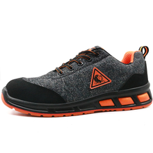 Light weight metal free anti static workshop sport safety shoes european