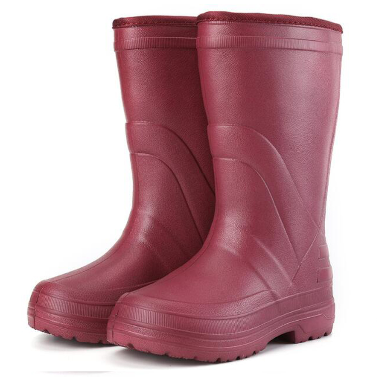 Slip resistant keep warm women winter eva work boots