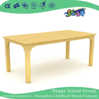 School Children Wooden Rectangle Table Desk Furniture (HG-3902)