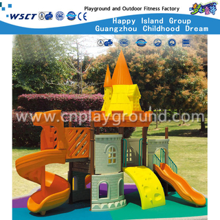 Small Outdoor Children Castle Galvanized Steel Playground for Sale (HD-2202)