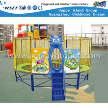 A-17808 Cheap Cartoon Trampoline Amusement Equipment