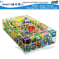 Indoor Adventure Playground For Kids Play(M11-05701)