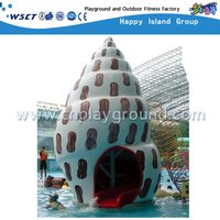 Water Field Snail Game Kids Slide for Water Park Playground(HD-7106)