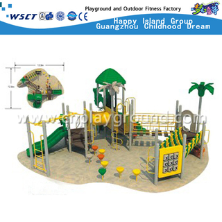 Outdoor Galvanized Steel Sevilla Playground Equipment for Backyard and Sports Area (HAP-4401)