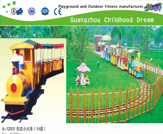 China Guangzhou electric train factory provides discount mini train equipment, electric train equipment ,electric train combination equipment, train for kid and adult
