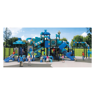 School Outdoor Large Water Pipe Shaped Galvanized Steel Playground (HJ-11202)