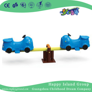 Double Kids Cartoon Plastic Animal Seesaw Equipment (HJ-20506)