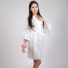 Disposable Nonwoven Sauna suit Lux Kimono