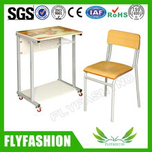 New Style Design School Student Desk and Chair (SF-91S)