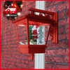 (LW40045B-R) Festival Christmas Decorative Snowing Wall Lamp Santa Claus