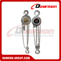 0.5T - 10T Stainless Steel Chain Hoist / Pulley Chain Block for Lifting