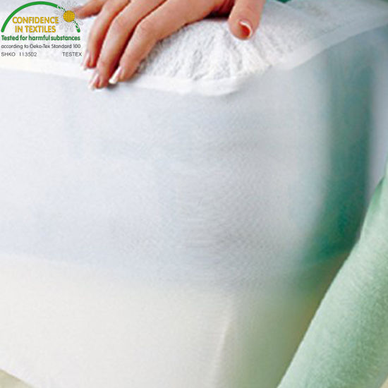 Premium Vinyl Free Terry Cotton Topper Twin XL Size Hypoallergenic Waterproof Mattress Protector